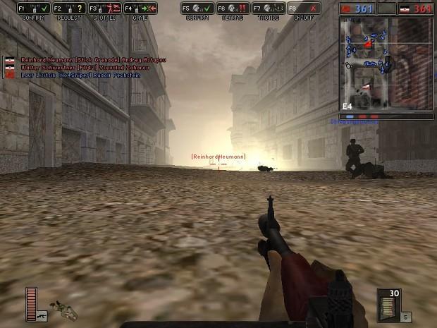 Bots using grenades