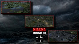 Miasma Prototype Lab game menu image - 1920 x 1080