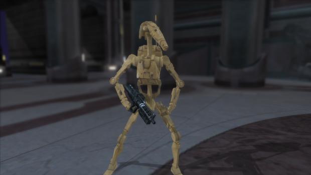 New B1 Battle Droid Model