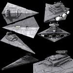 Imperial Star Destroyer skinned