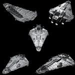 Imperial Vigil Corvette