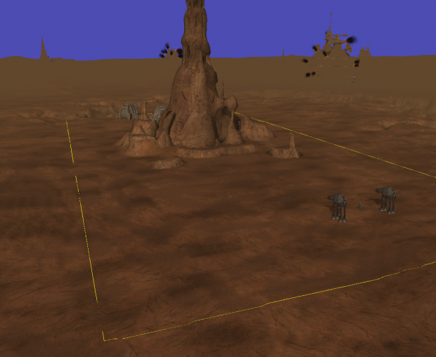 Geonosis test bed map