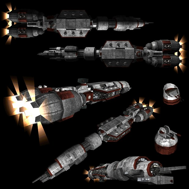 Rebel high tier multi-purpose light cruiser