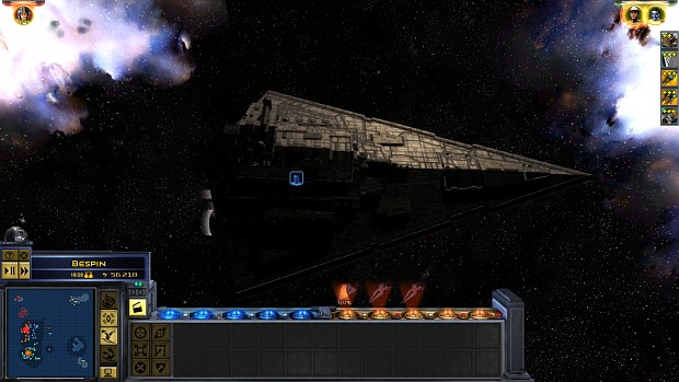 New ship light texture and shadow meshes