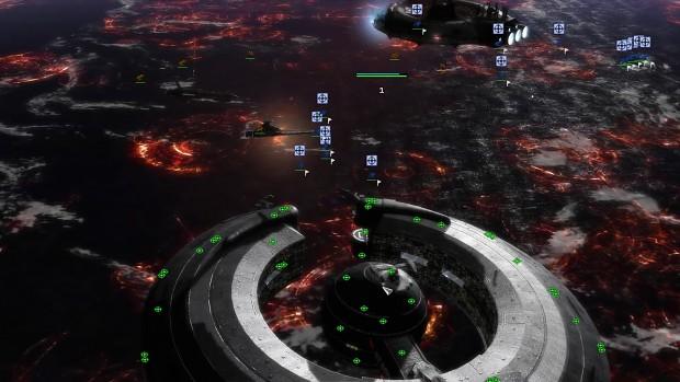 New Lucrehulk control ship and battleship