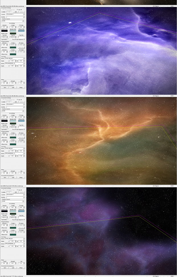 Some of the new nebulae