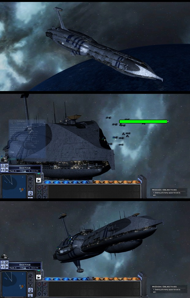 Providence class carrier-destroyer finished
