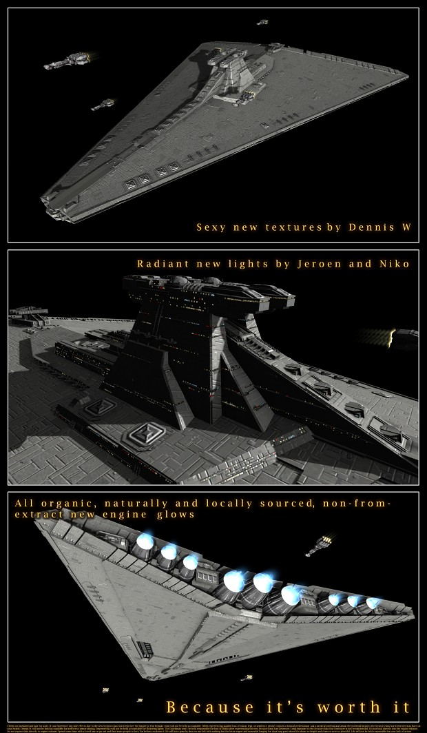 Complete makeover for the Secutor-class SD
