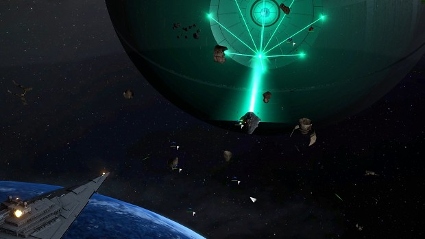 Watch the new video of the Death Star!