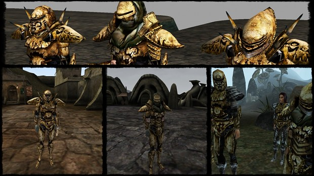 Bonemold Armor Retexture