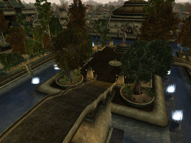 New look of the city of Vivec