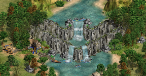 New eye candy cliffs/waterfall