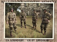 Paras of the 101st US Airborne Division
