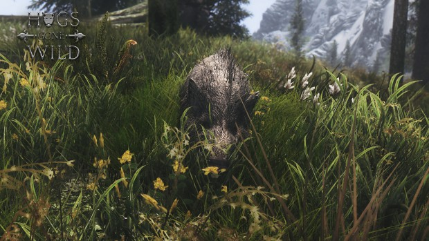 Hogs Gone Wild! WIP static in-game export test