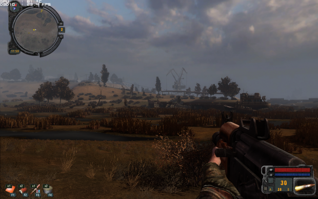 Some random screenshots #1: a new game