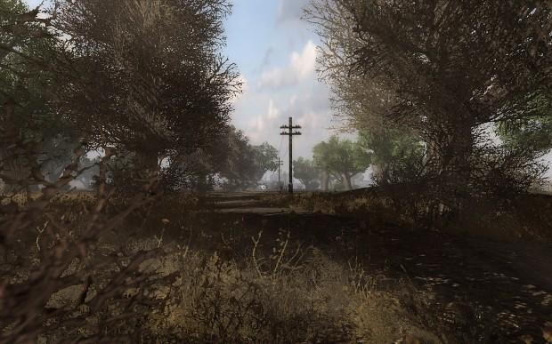 Screenshots of new map: Northern Pripyat