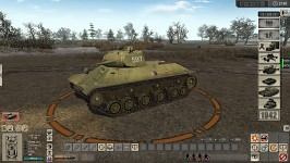 T-50 light tank with new skin
