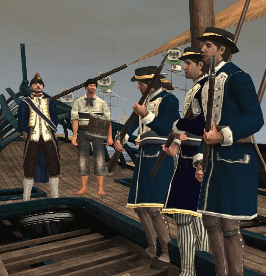 Prussian marines