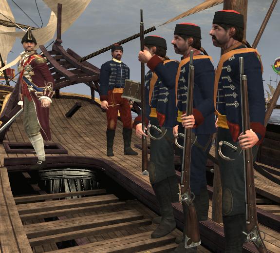 Venetian marines