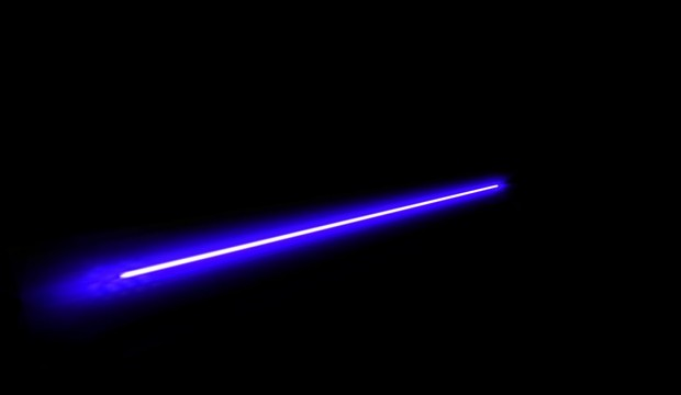 New Laser Particle