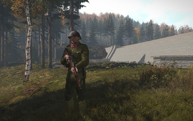 Czechoslovak soledier - new model for ArmA III