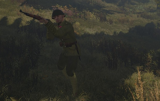 Czechoslovak soldier - new model for ArmA III