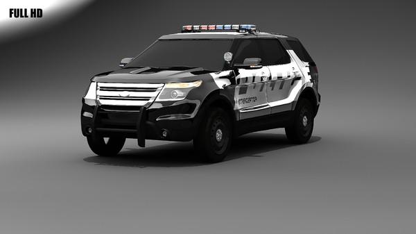 2012 Ford Explorer Intercepter Image Nightlife Gaming
