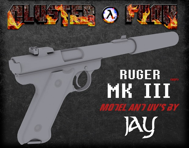 Suppressed Ruger MK III