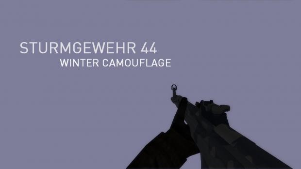 SturmGewehr 44 • Winter Camouflage #Unused Concept