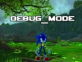 Debug Mode (Sonic The Hedgehog (2006))