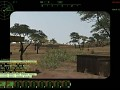 WH40K II ArmA2 game footage of the Leam Russ in action