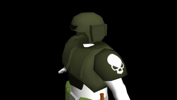 NEW Cadian trooper's Body Armor WiP