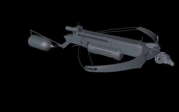 Van Helsing Crossbow - Finished Model