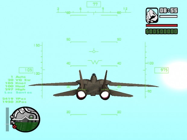 NEW AIRPLANE HUD