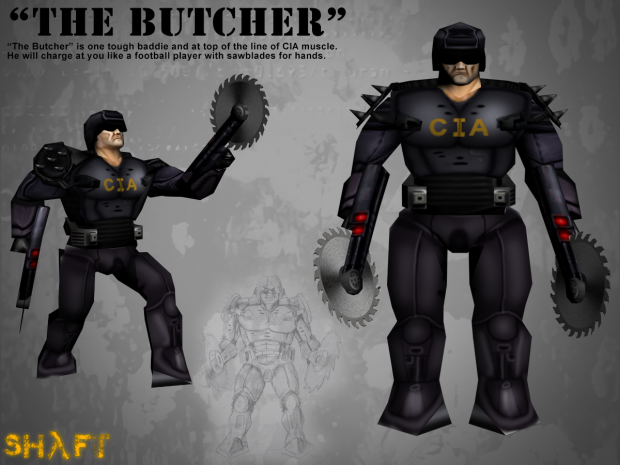 "Concept CIA ""The Butcher"""