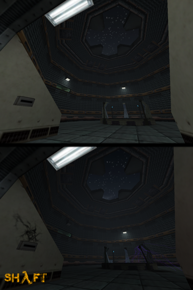 Test Chamber Before/After