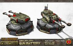 China Gun Battery
