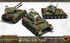 China Neutralizer Flak Tank