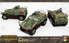 China Raider LAV