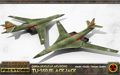 China Tu-160 Blackjack