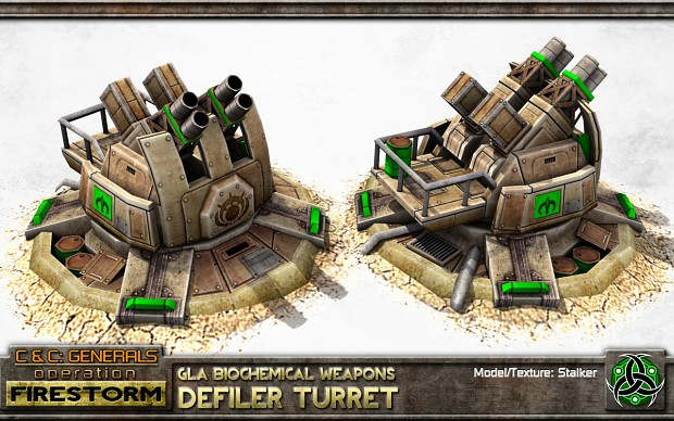 GLA Defiler Turret