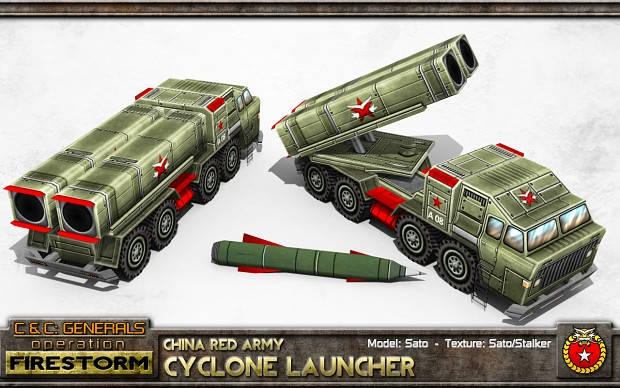 China Cyclone Launcher