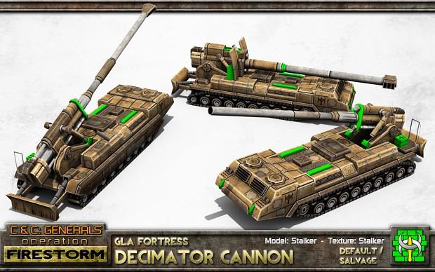 GLA Decimator Cannon