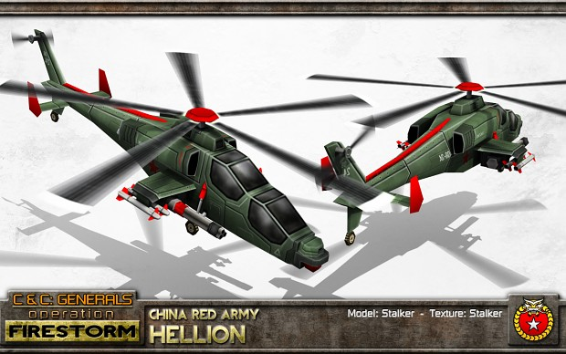 China Hellion Attach Helicopter