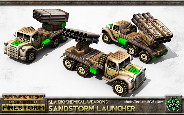 GLA Sandstorm Launcher