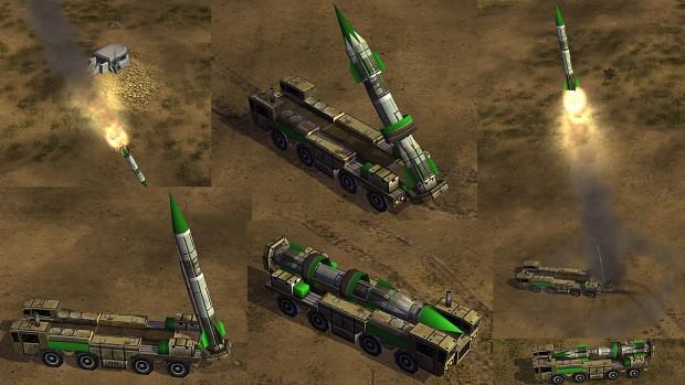 Terror General SCUD Launcher