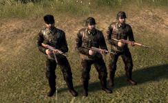 German camouflage uniform