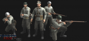 Finnish forward observers (Artillery)