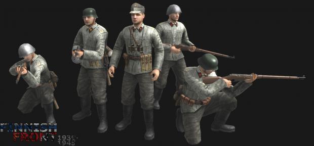 Finnish forward observers (Artillery)