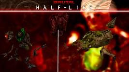 Bullsquid, barnacle & vortigaunt